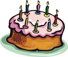 Shared Birthday Cake